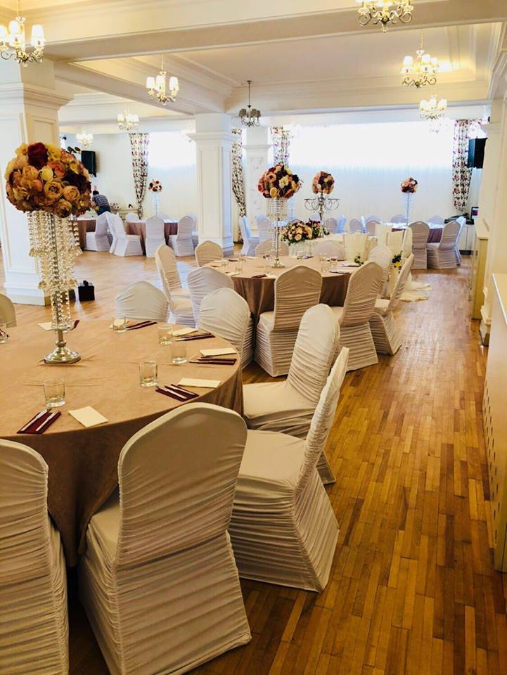 aranjament nunta in radauti restaurant modern
